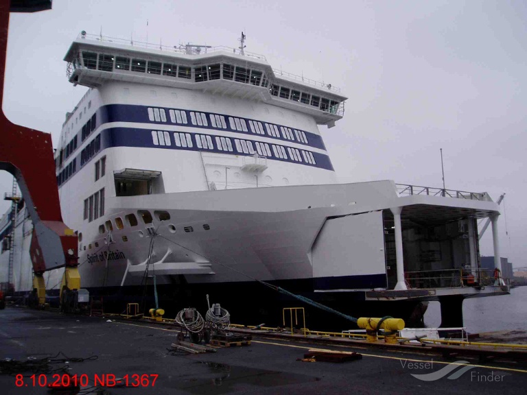 SPIRIT OF FRANCE (MMSI: 235082717) ; Place: Rauma Finland