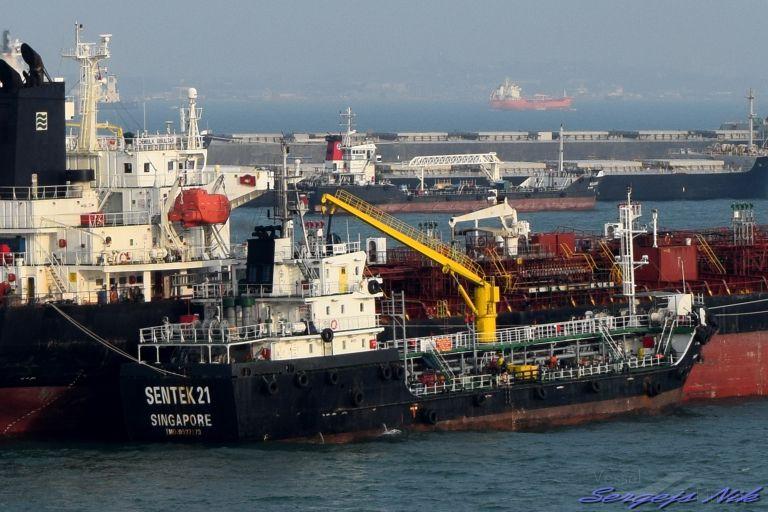 SENTEK 21, Oil Products Tanker - Details and current