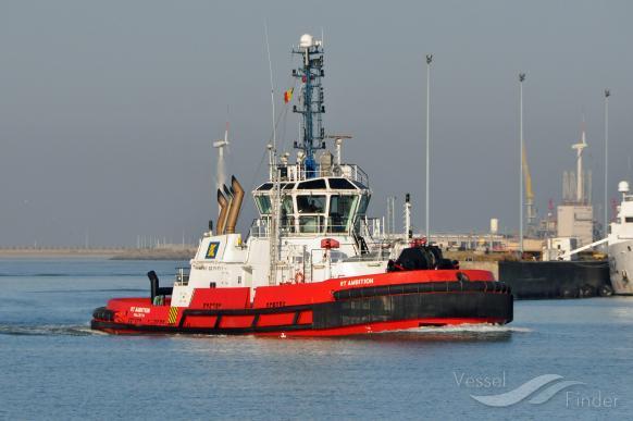 RT AMBITION (MMSI: 256947000) ; Place: Zeebrugge