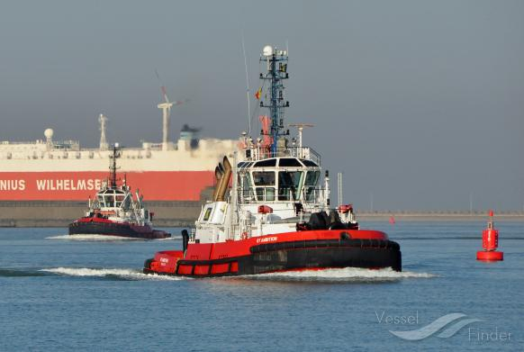 RT AMBITION (MMSI: 256947000) ; Place: Zeebrugge