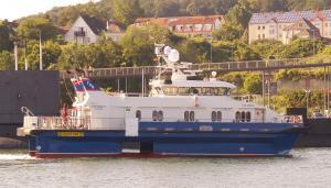 Photo of FOB SWATH1 ship