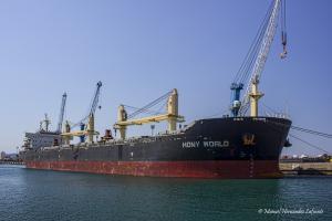Photo of HONY WORLD ship