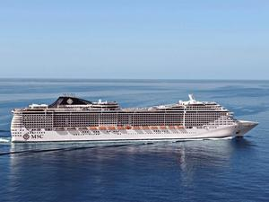 Photo of MSC Divina ship