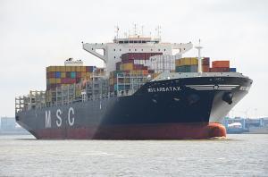 Photo of MSC ARBATAX ship