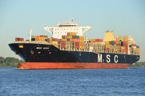 Photo of MSC AZOV ship
