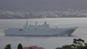 Photo of HMAS CANBERRA ship