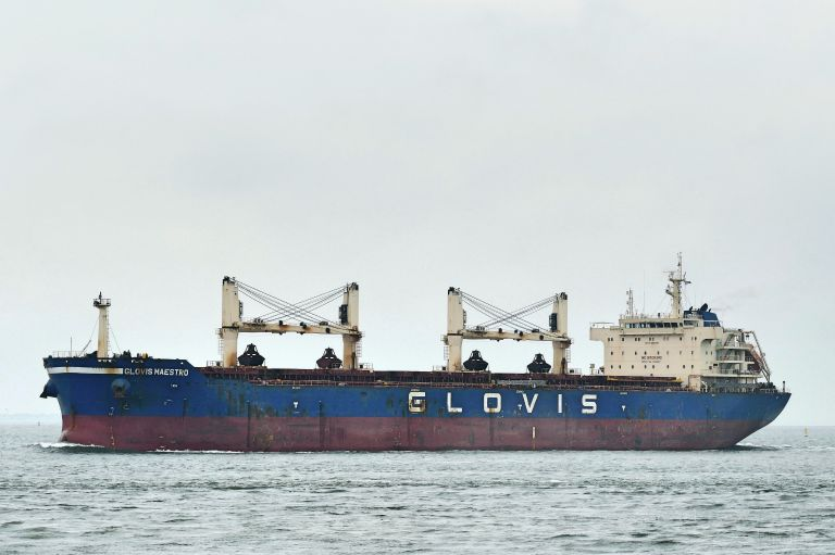 GLOVIS MAESTRO, Bulk Carrier - Details and current position