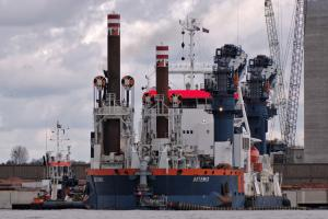 Photo of ARTEMIS ship