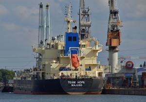 Photo of TEAM HOPE ship