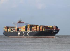 Photo of MSC ALGHERO ship