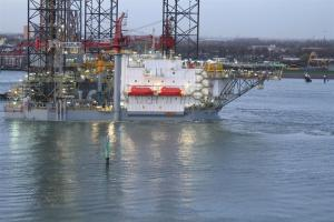 Photo of ENSCO 121 ship