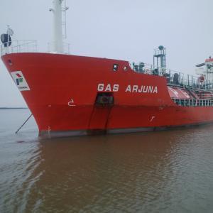 Photo of GAS ARJUNA ship
