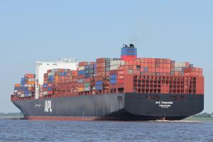 Photo of APL TEMASEK ship