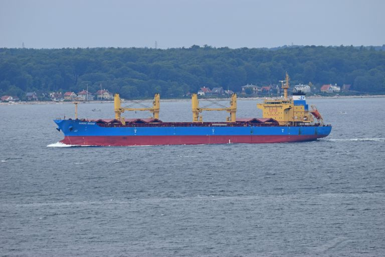 NORDIC BUSAN, Bulk Carrier - Details and current position