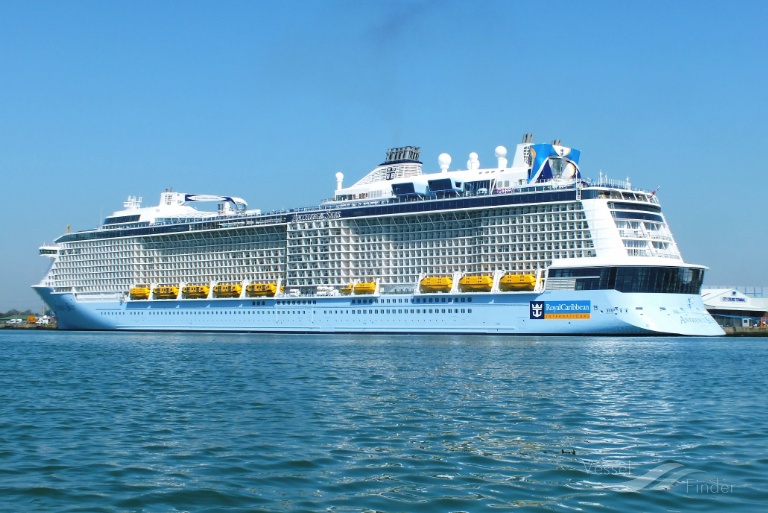 Anthem Of The Seas Passenger Cruise Ship Details And Current