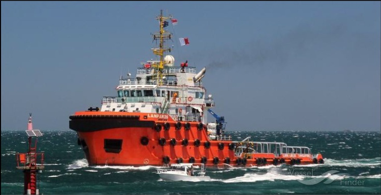 LANPAN 26, Tug - Details and current position - IMO 9663544