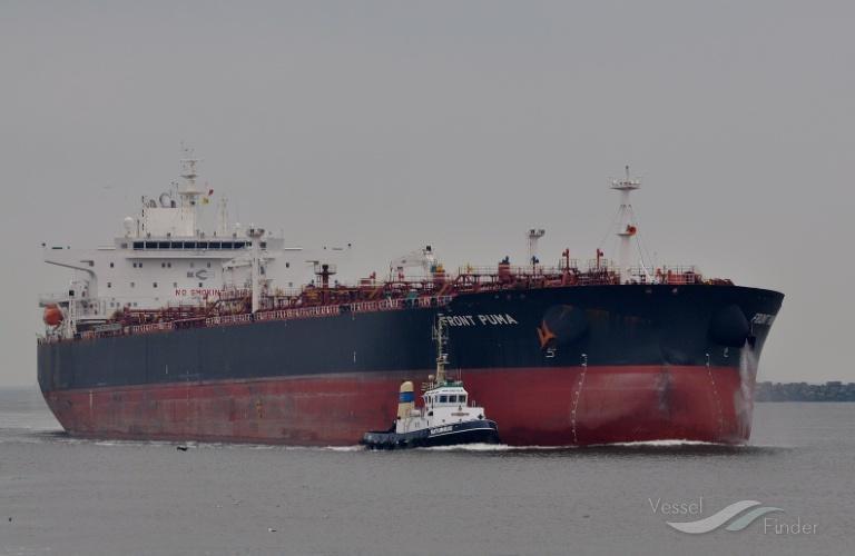 FRONT PUMA, Crude Oil Tanker - Détails du bateau et situation ...