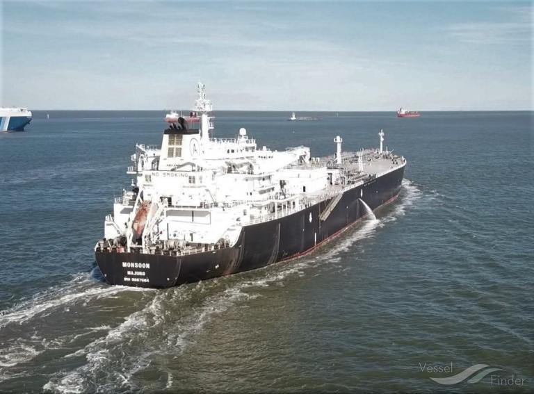 MONSOON, LPG Tanker - Details and current position - IMO