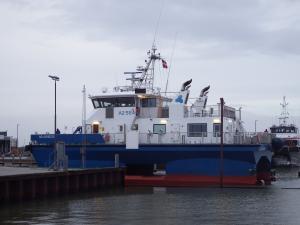 Photo of FOB SWATH 2 ship