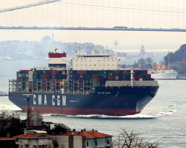 CMA CGM RHONE, Container Ship - Details and current position
