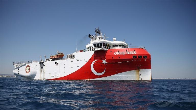 ORUC REIS Τρέχουσα θέση (Research Vessel, IMO 9675470) - VesselFinder