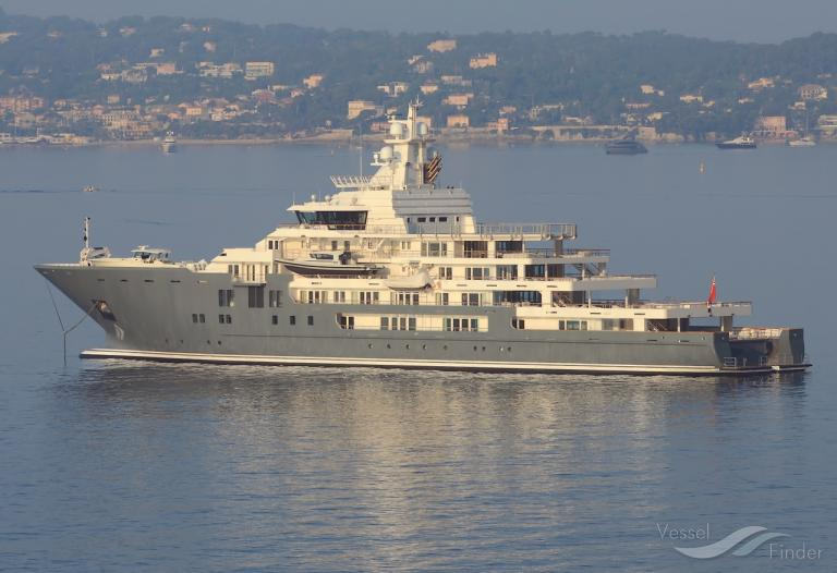 Andromeda Yacht Details And Current Position Imo 9692545 Mmsi