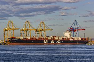 Photo of MSC MELINE ship