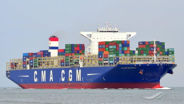 CMA CGM KERGUELEN, Container Ship - Details and current