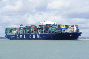 Photo of CMACGM BOUGAINVILLE ship