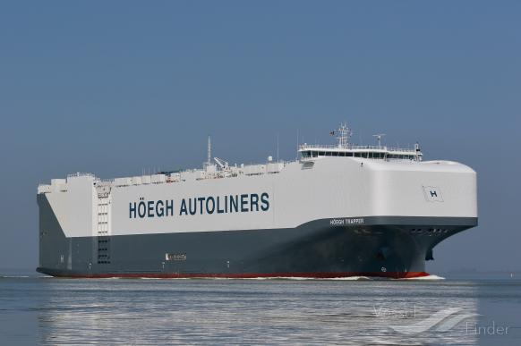 HOEGH TRAPPER, Vehicles Carrier - Details and current