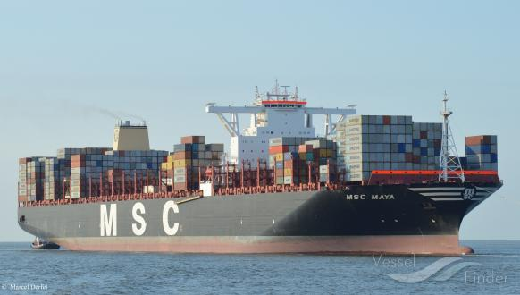 MSC MAYA, Container Ship - Details and current position - IMO