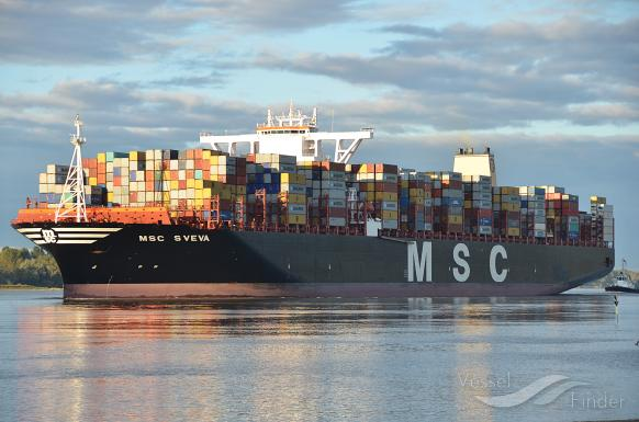 MSC SVEVA, Container Ship - Details and current position - IMO
