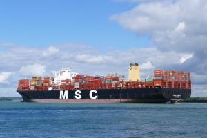 Photo of MSC SVEVA ship
