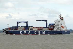 Photo of CMA CGM CAYENNE ship