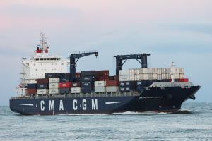 Photo of CMA CGM ST. LAURENT ship