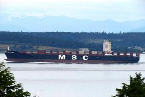 Photo of MSC CHANNE ship