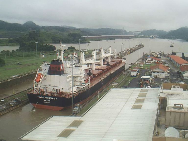 tomini prosperity bulk carrier details and current position imo