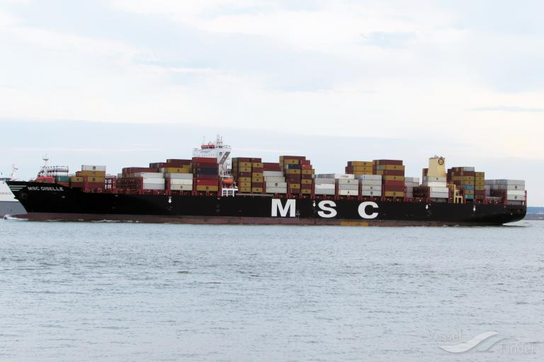 MSC GISELLE, Container Ship - Details and current position - IMO