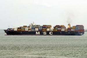 Photo of MSC JEONGMIN ship