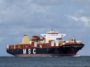 Photo of MSC SASHA ship