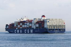 Photo of CMA CGM TANYA ship