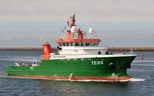 Photo of TESS ship