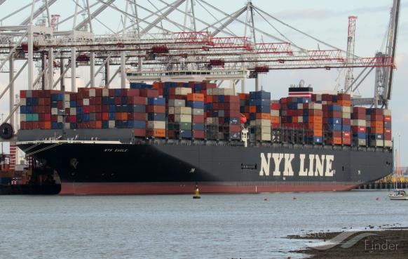 NYK EAGLE, Container Ship - Details and current position - IMO