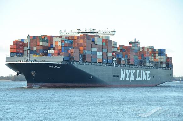 NYK CRANE, Container Ship - Details and current position