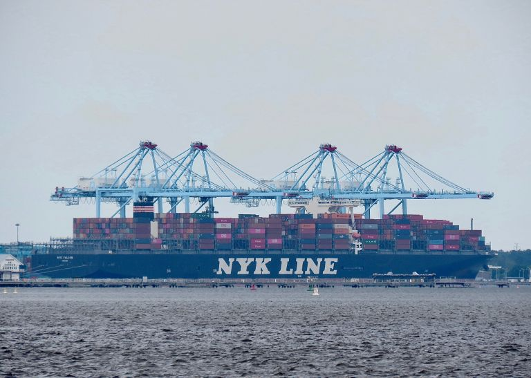 NYK FALCON, Container Ship - Details and current position - IMO