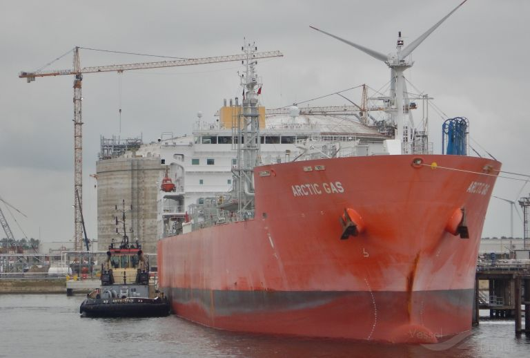 ARCTIC GAS, LPG Tanker - Details and current position - IMO