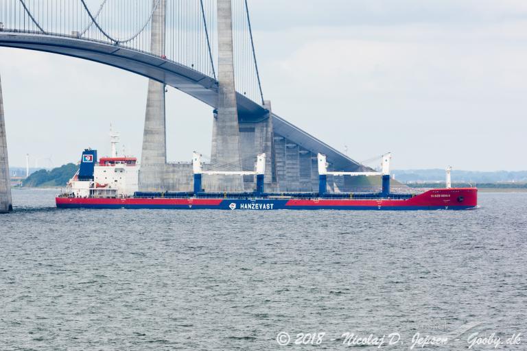 Φωτογραφία του πλοίου HANZE GENUA