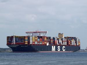 Photo of MSC REEF ship