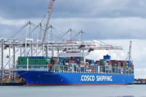 Photo of COSCO HIMALAYAS ship