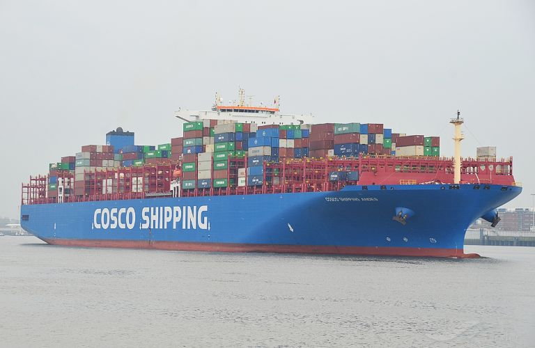 COSCO SHIPPING ANDES, Container Ship - Details and current position